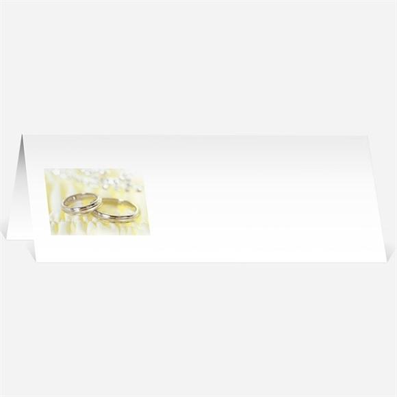 Marque-place mariage Alliances réf.N44053