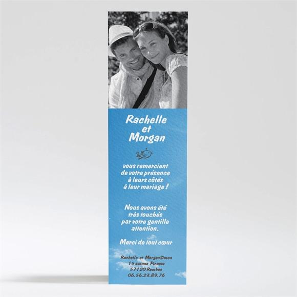 Remerciement mariage le fil à linge mariage réf.N20089