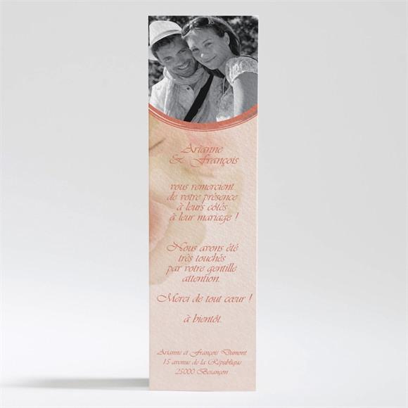 Remerciement mariage Le bouquet réf.N20093