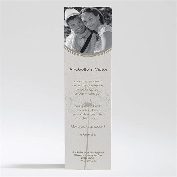 Remerciement mariage Joli pissenlit réf.N20084