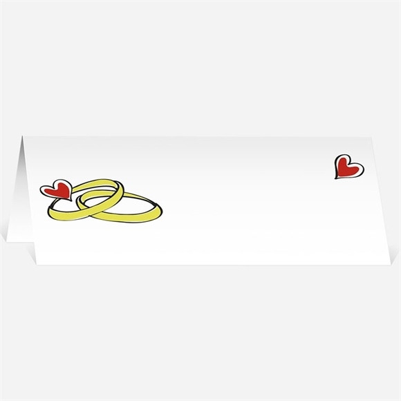 Marque-place mariage Original et frais réf.N44069