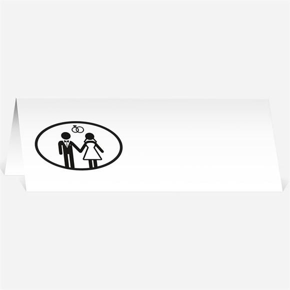 Marque-place mariage réf. N44083 réf.N44083