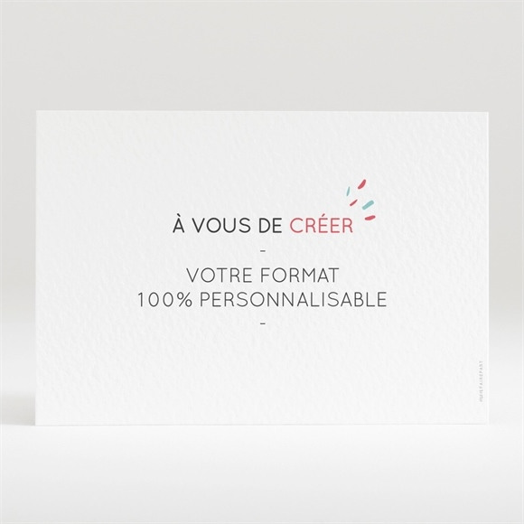 Carton d'invitation mariage réf. N120162 réf.N120162