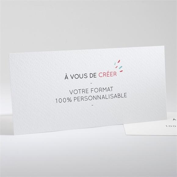 Faire-part mariage Format Paysage à inventer réf.N13105