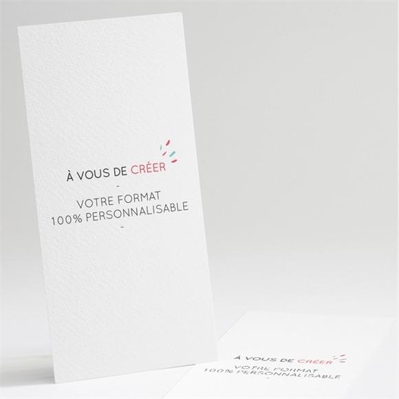 Faire-part naissance Marque page 100% vierge réf.N22110