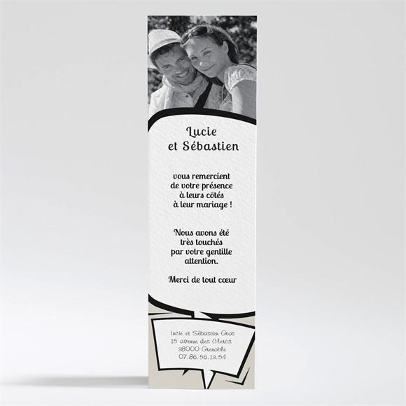Remerciement mariage Notre Gâteau réf.N200116