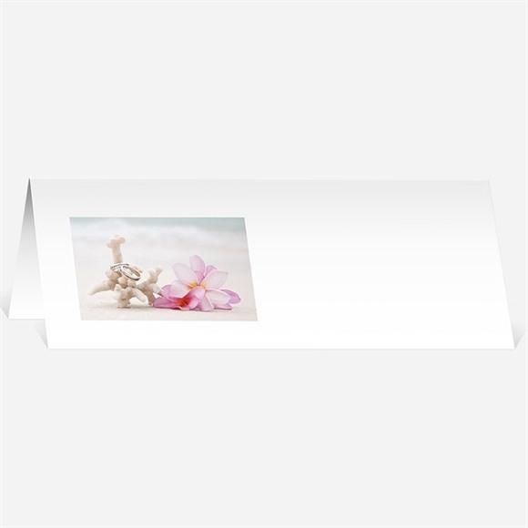 Marque-place mariage Coquillages et crustacés réf.N44091