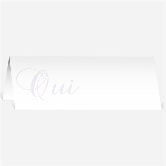 Marque-place mariage Orchidées bleues réf.N44092