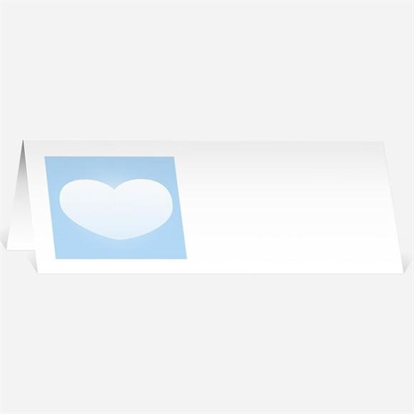 Marque-place mariage En parachute montage photo réf.N44095
