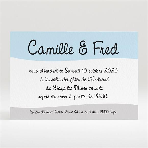 Carton d'invitation mariage Surprise nous nous marions réf.N120171