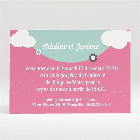 Carton d'invitation mariage réf. N120176 réf.N120176