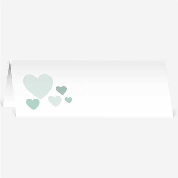Marque-place mariage Sous les coeurs de l'Amour réf.N440108
