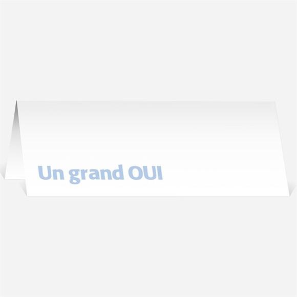 Marque-place mariage Annonce décalée réf.N440109