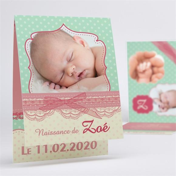 Faire-part naissance réf. N50124 réf.N50124