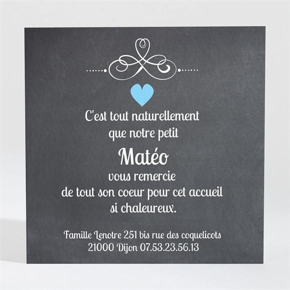 Remerciement naissance Petit Sorbet réf.N30044