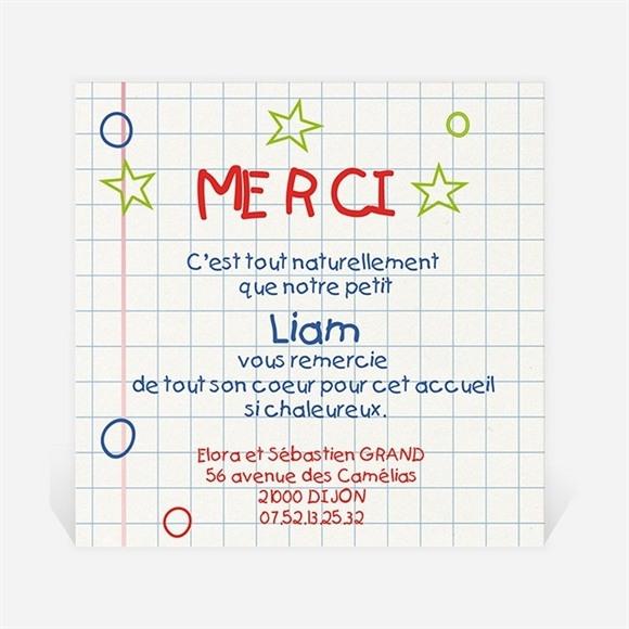 Remerciement naissance Coucou réf.N30064