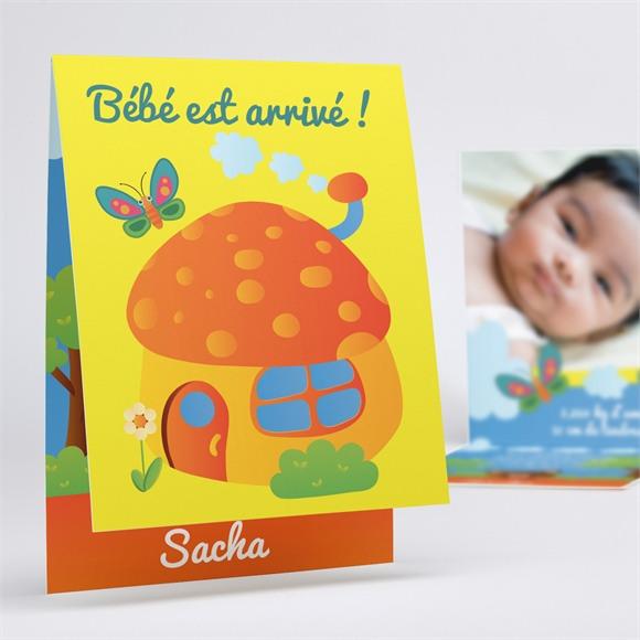 Faire-part naissance Home sweet réf.N50126