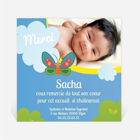 Remerciement naissance Home sweet réf.N30075