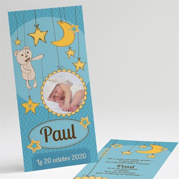 Faire-part naissance Clair de lune réf.N22113