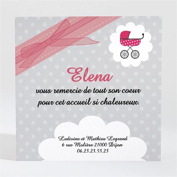 Remerciement naissance Notre Petite Demoiselle réf.N30079
