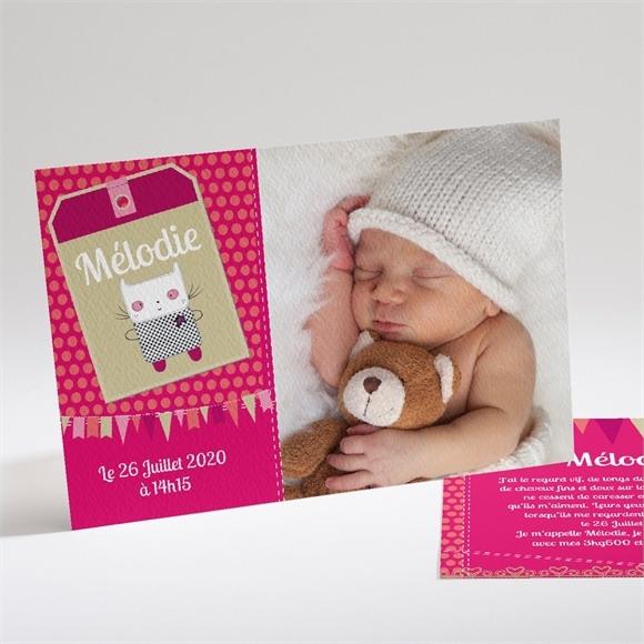 Faire-part naissance Ma Petite Mélodie réf.N14108