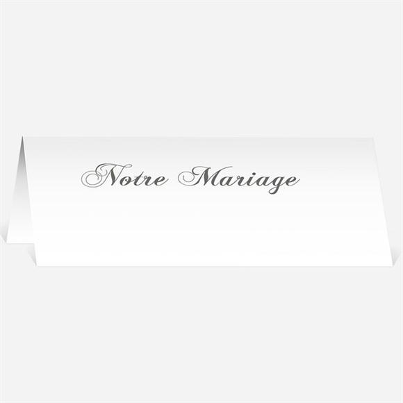 Marque-place mariage Sérénité réf.N440120
