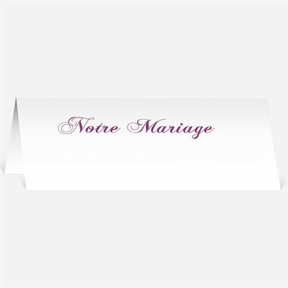 Marque-place mariage Dans un lit de roses réf.N440121
