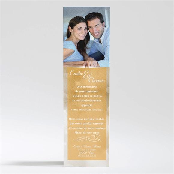 Remerciement mariage Scintillements réf.N200170