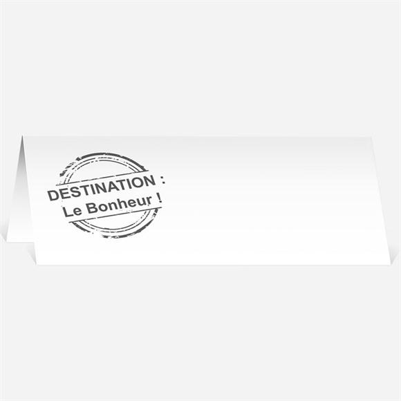 Marque-place mariage Carte postale voyage réf.N440128
