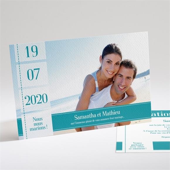 Faire-part mariage Pour la Vie réf.N14114