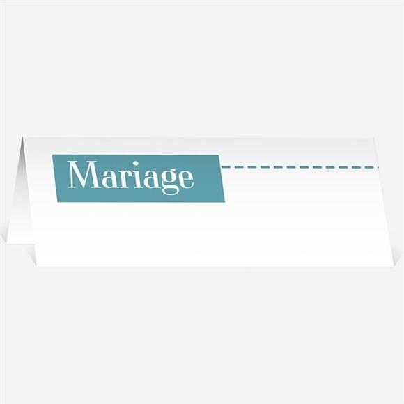 Marque-place mariage Pour la Vie réf.N440130