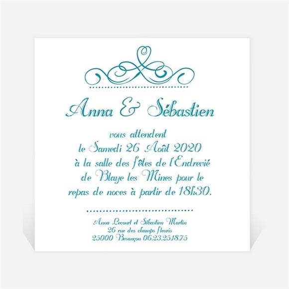 Carton d'invitation mariage invitation avec Photo original réf.N300106