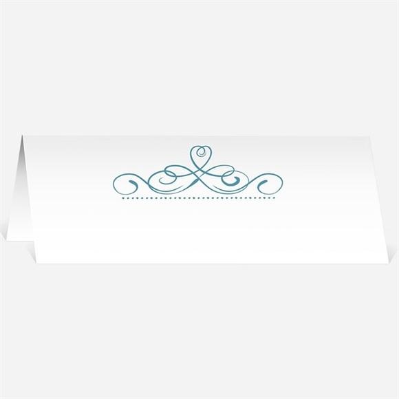 Marque-place mariage invitation avec Photo original réf.N440131