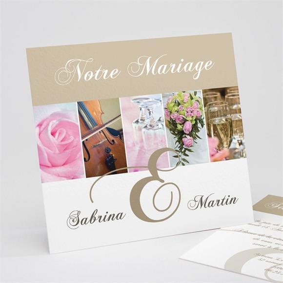 Faire-part mariage Tendance et photos réf.N31142
