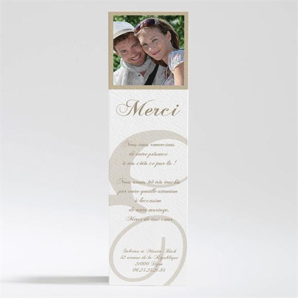 Remerciement mariage Tendance et photos réf.N200186