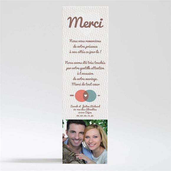 Remerciement mariage A la croisée des chemins réf.N200178