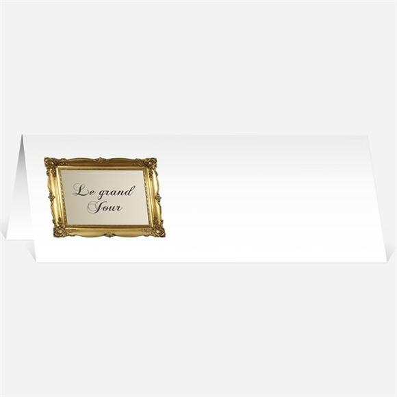 Marque-place mariage Petit Noeud doré réf.N440138