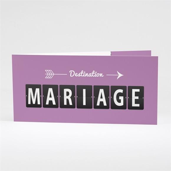 Faire-part mariage Destination Mariage réf.N43122