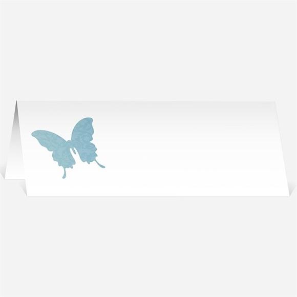 Marque-place mariage Le Papillon bleu réf.N440153