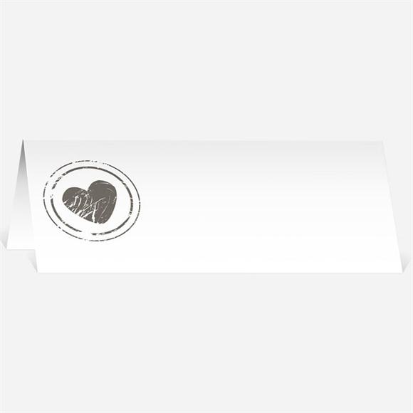 Marque-place mariage annonce originale et vintage réf.N440169