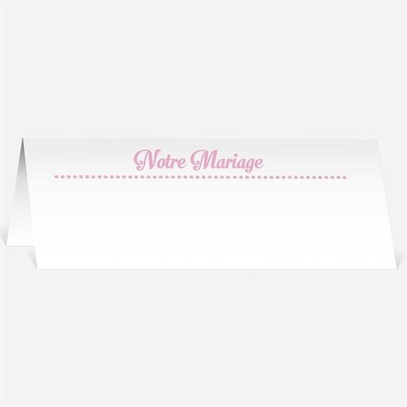 Marque-place mariage Programme vintage et ardoise réf.N440167