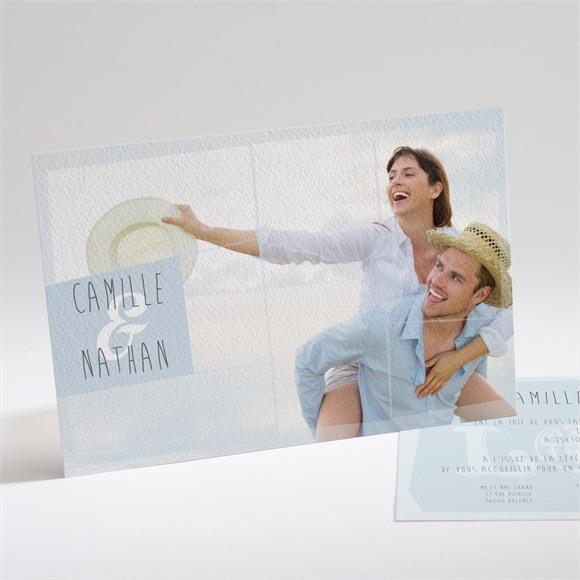 Faire-part mariage Associez vous à notre Bonheur réf.N14118