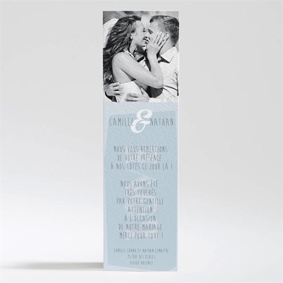 Remerciement mariage Associez vous à notre Bonheur réf.N200213