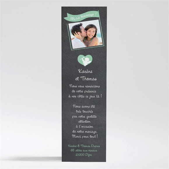 Remerciement mariage Cupidon réf.N200209