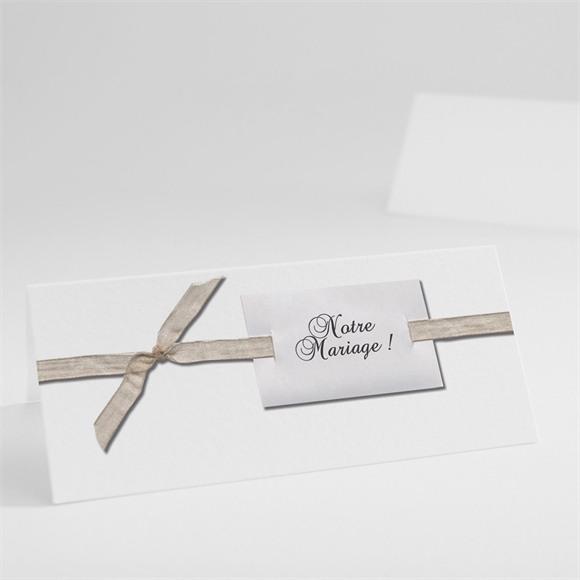 Marque-place mariage Trompe l'oeil réf.N440176
