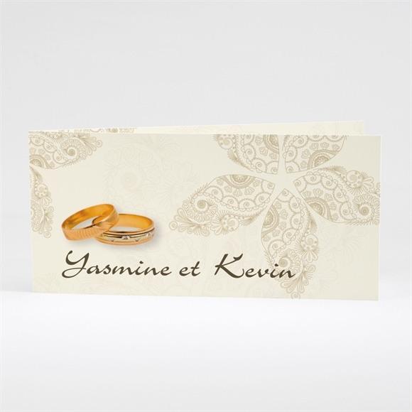 Faire-part mariage Romantique byzantin réf.N43128