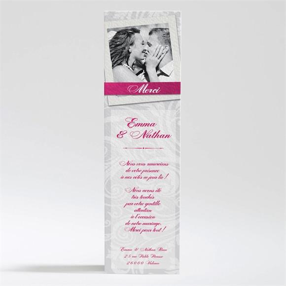 Remerciement mariage Gros noeud réf.N200225