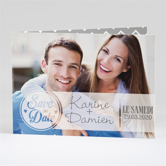 Faire-part mariage Save The Date réf.N42123