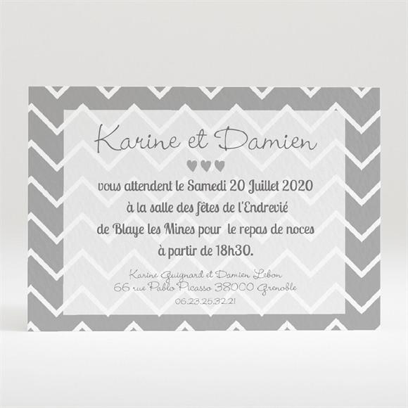 Carton d'invitation mariage Save The Date réf.N120193