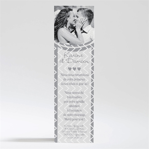 Remerciement mariage Save The Date réf.N200231